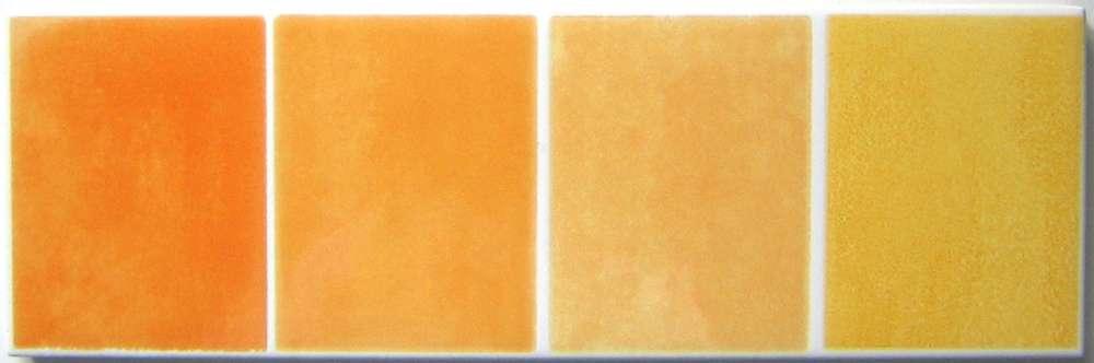 Bordren Badezimmergestaltung Style   Bordure Badezimmergestaltung Gelb Orange Villeroy Boch R931 6 5 20