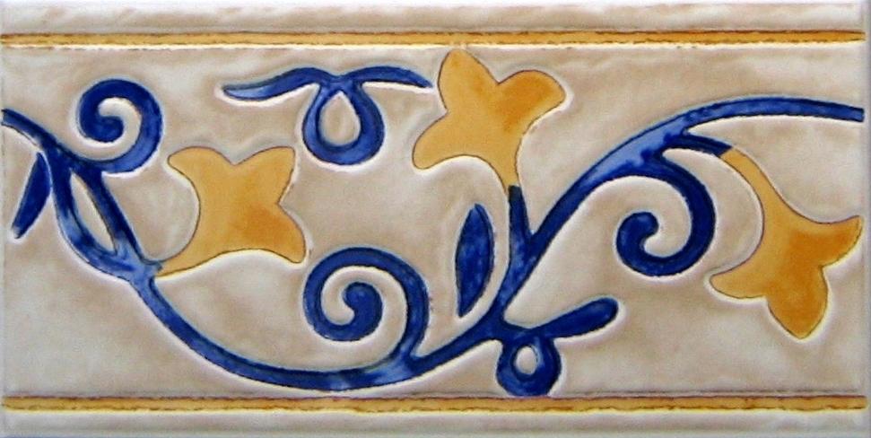 Bordüren Fliesen Finca cotto Villeroy & Boch R195 12,5/25 cm ...